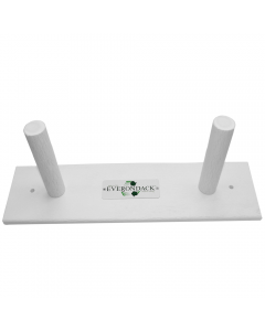 White Everondack Backboard Rack For One Board