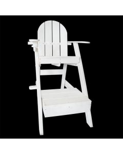Front of the Everondack® Lifeguard Chair - LG 507 in White