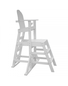 Side of MLG 525 - Everondack® Medium Lifeguard Chair with Front Ladder in White