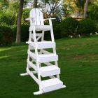 LG 517 - Everondack® Lifeguard Chair in White