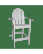 Front of the Everondack® Lifeguard Chair - LG 500 White